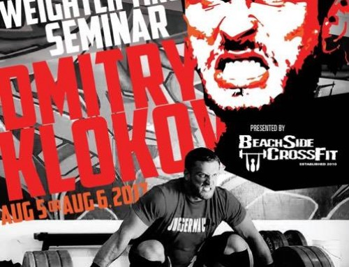 KLOKOV Olympic Weightlifting Seminar Aug 5 and 6 -2017
