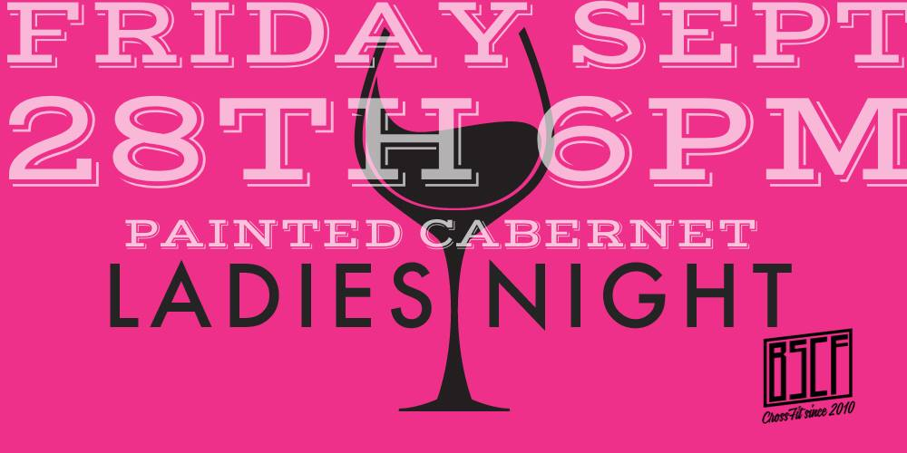 Ladies Night Paint & Cabernet
