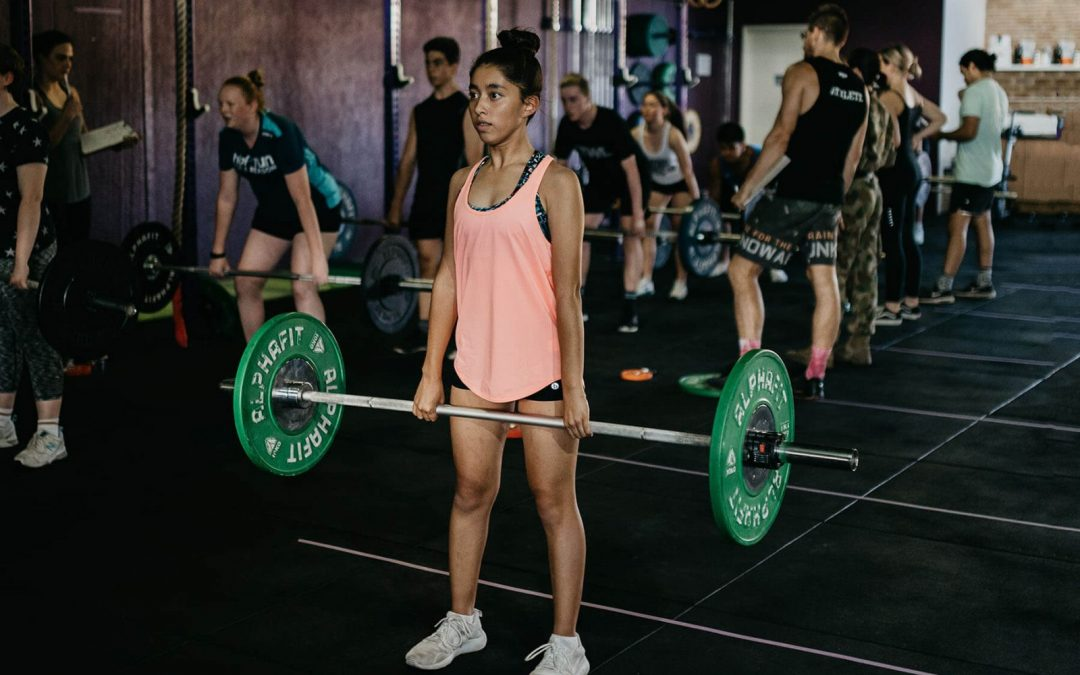 Teens, Kids and Strength Training with the Barbell